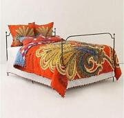 Anthropologie Queen Comforter Set