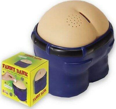 - Fanny Bank Funny Farting Coin Drop Bank Great Gift/Gag