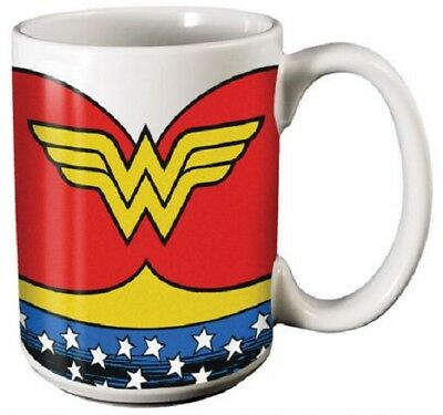 Wonder Woman Costume Design (Wonder Woman Ceramic Coffee Mug: Costume)