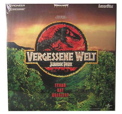 "Laserdisc LD "" Vergessene Welt - JURASSIC PARK "" NEU"