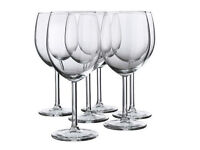 35 NEW Wine glasses (red or white)