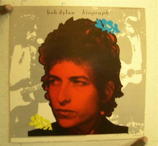 Bob Dylan Biograph Poster