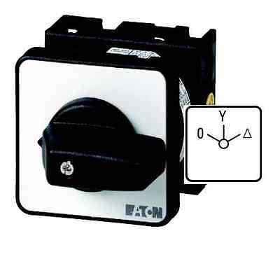 (1 Stk) Stern-Dreieck-Schalter 20A 6,5kW Moeller EATON 024604 // T048410E