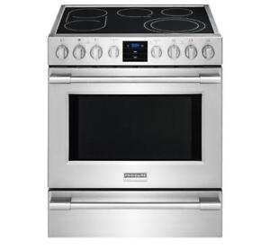 FRIGIDAIRE PROFESSIONAL CPEH3077RF 30'' ELECTRIC FRONT CONTROL FREE STANDING  (BD-652)