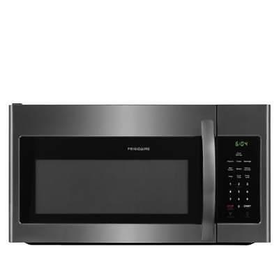 Frigidaire FFMV1645TD - 1.6 Cu Ft Over-The-Range Black Stainless Steel Microwave