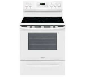 169 - NEUF -NEW Four Cuisinière BLANCHE FRIGIDAIRE GALLERY WHITE  Stove Oven