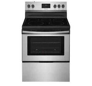 Frigidaire Electric Range, 30 Stainless Steel (FD18)