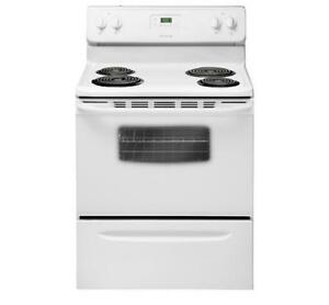 FRIGIDAIRE  CFEF3012PW RANGE 30 INCH  ELECTRIC RANGE ON SALE (AD 47)