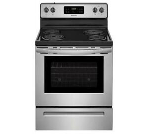 FRIGIDAIRE CFEF3016TS 30'' ELECTRIC RANGE | KITCHEN APPLIANCE SALE (BD-657)