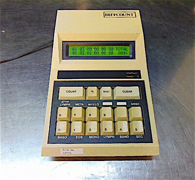 Modulus Data Systems 10-312 Differential Cell Counter Diffcount - S3141b