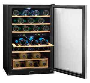 SPECIAL - 4.6 cu Stainless Steel Wine Cellar - $299 (save $200) Kitchener / Waterloo Kitchener Area image 2