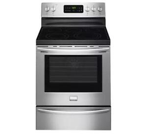 122-  Cuisinière Four Stainless FRIGIDAIRE GALLERY 30''  Stainless Stove Oven