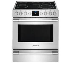 Stainless Steel 30 Frigidaire Professional Electric Range (FD24)