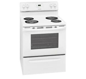 "Brand New - Frigidaire CFEF3012TW, Electric Range, 30"", 4 Burners - Authorised Dealer"