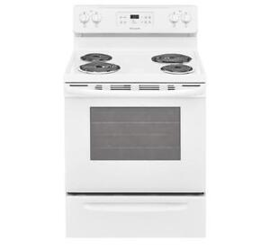 FRIGIDAIRE CFEF3016TW 30'' ELECTRIC RANGE | KITCHEN APPLIANCE DEALS (BD-658)