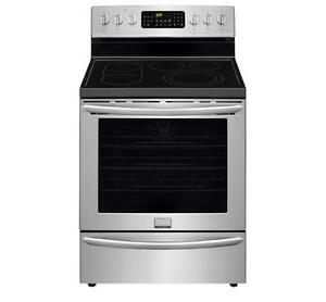 30'' Stainless steel Stove, Convection cooking, Warming drawer, Frigidaire