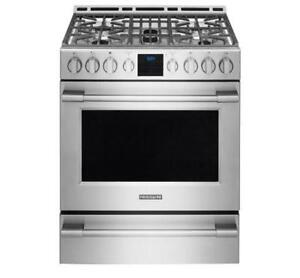 RANGES: GAS, ELECTRIC, DUAL FUEL & INDUCTION RANGES BY FRIGIDAIRE | BLOWOUT APPLIANCE SALE ON NOW (BD-646)