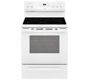 """FRIGIDAIRE CFEF3056TW 30'' FREESTANDING INDUCTION RANGE 