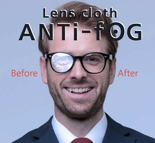 Anti-Fog Lens Cleaning Cloth