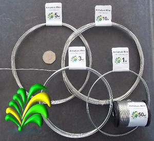 Armature Frame / Craft Modelling Wire - Aluminium or Galvanised - All gauges