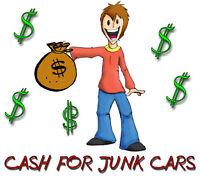 WANT THAT JUNK CAR GONE? CALL ME 519-988-9811 FREE PICKUP