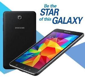 """Samsung Galaxy Tab4 - 7"""" Quad-Core 1GB RAM - 8GB - 1.20 GHz - An"""