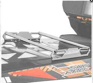 Arctic Cat Billet Tunnel Rack - Silver 5639-598