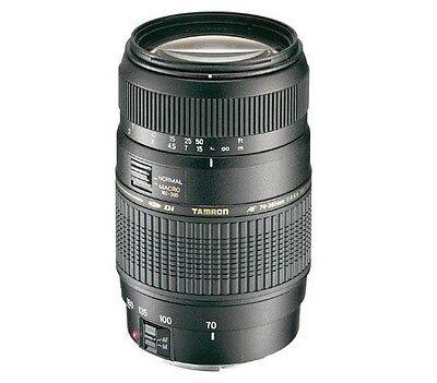 TAMRON AF 70-300mm Zoom Lens for Nikon DX D5600 D500 D300S D300 D200 D5000 D3400, usado segunda mano  Embacar hacia Spain