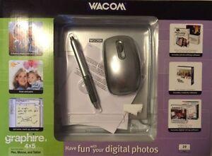"Wacom Graphire 4 4x5"" USB Pressure Tablet/Cordless Mouse Kitchener / Waterloo Kitchener Area image 2"