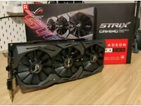Asus strix Rx 580 8Gb grpahics card ARGB