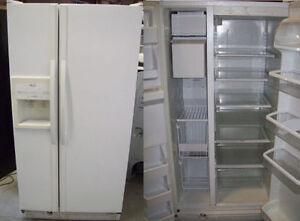Refrigerators SXS White >>> Durham Appliances Ltd, since 1971
