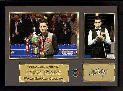 Mark Selby signed autograph A photo picture Memorabilia Snooker World Champion