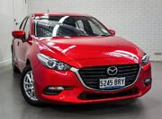2017 Mazda 3 BN5476 Neo SKYACTIV-MT Soul Red 6 Speed Manual Hatchback West Hindmarsh Charles Sturt Area Preview