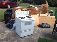 Household junk and garbage removal CALGARY & AREA