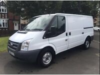 2011 61 reg Ford transit 115ps 6speed 1 owner from new full service history no vat