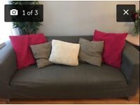 2 Klippan Ikea sofas, grey removable covers. Perfect condition. £60 for both