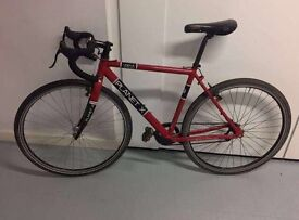 Planet X racer Bike red
