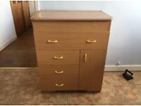 Mamas and Papas Baby Changing Table Unit Cabinet - 88cm x 48cm x 74cm