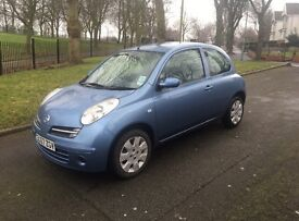 "2007 (57) NISSAN MICRA SPIRITA AUTOMATIC 1.2 PETROL ""FULL MOT + DRIVES VERY GOOD + CHEAP TO INSURE"""