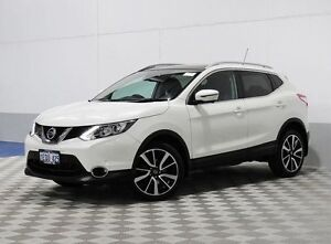2014 Nissan Qashqai J11 TI (4x2) White 6 Speed Manual Wagon Jandakot Cockburn Area Preview