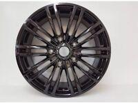 Transit custom 20 inch gloss black alloys custom mk6 mk7 wheels