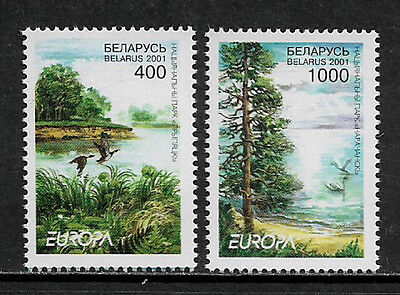 Belarus 388-9 Mint Never Hinged Set - 2001 Europa