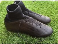 NIKE BLACKOUT MERCURIAL FOOTBALL BOOTS