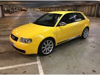 Audi S3 Quattro, 3 door rare imola yellow may PX or swap