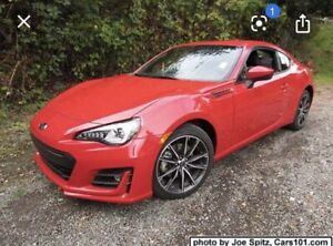 2016 Subaru BRZ sport-tech package