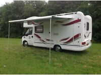 Fiat ducato auto Trail Apache motor caravan camper motorhome coach built