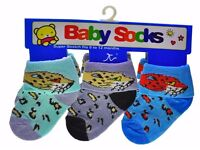 120x Pairs Baby Socks Supper Soft Cotton 0-6 Mixed Colours