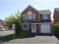 4 bedroom detached house available to let in Bedlington