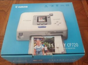 Canon Selphy CP720 Compact Photo Printer( New Condition in Box).