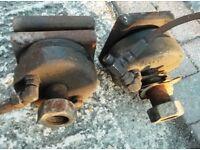 JCB/Hydraulic Clamps